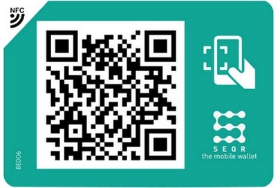 paying by smartphone QR